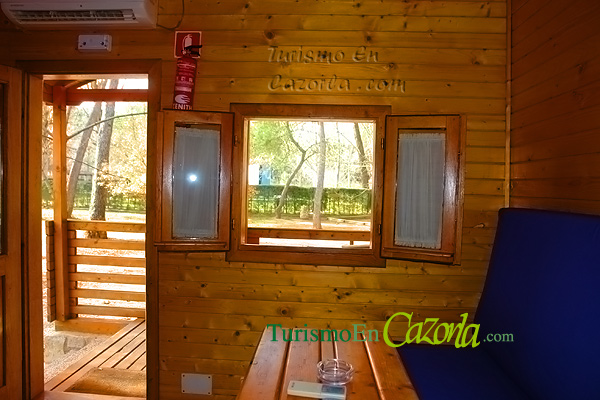 Casas de madera por dentro y fuera awesome vista interior - Casas de madera por dentro ...