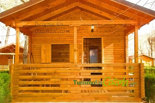 Caba as de madera los llanos de arance casa rural y for Cabana madera precio