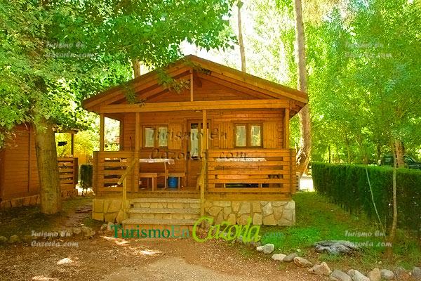 Caba as de madera los llanos de arance casa rural y - Ver casas de madera ...