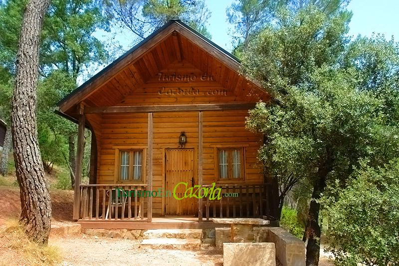 Caba as de madera los enebros casa rural y alojamientos - Cabanas de madera los pinos ...