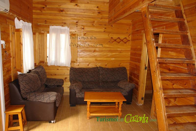 Caba as de madera los enebros casa rural y alojamientos for Oferta cabanas de madera