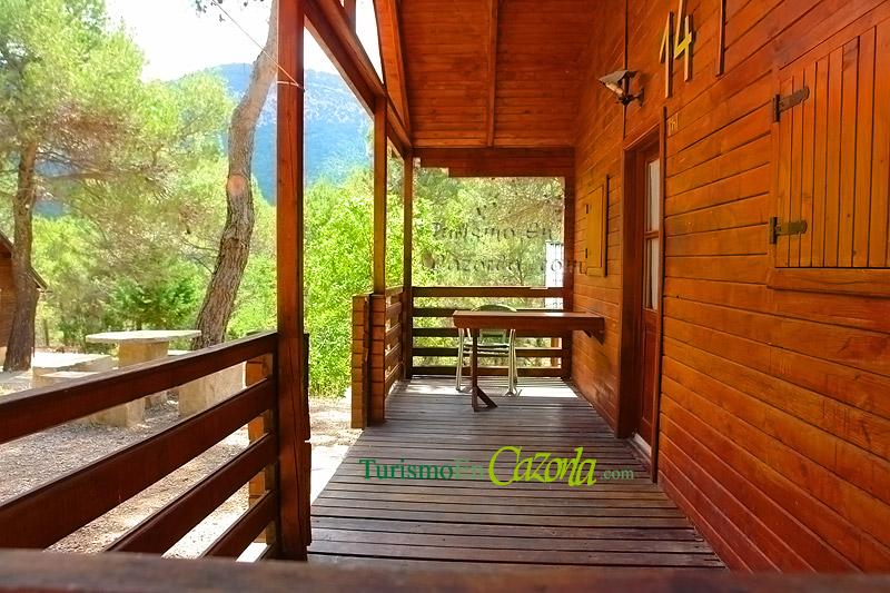 Caba as de madera los enebros casa rural y alojamientos en arroyo fr o la iruela ja n - Cabanas de madera los pinos ...