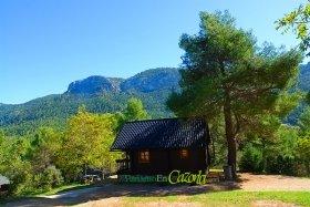 Casas rurales hoteles apartamentos camping - Casa rural de madera ...