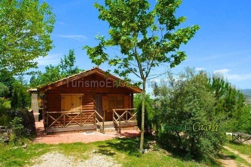 Caba as de madera la vega casa rural y alojamientos en - Casas rurales de madera ...