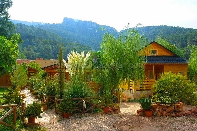 Caba as de madera los pinos casa rural y alojamientos en arroyo fr o la iruela ja n - Cabanas de madera los pinos ...